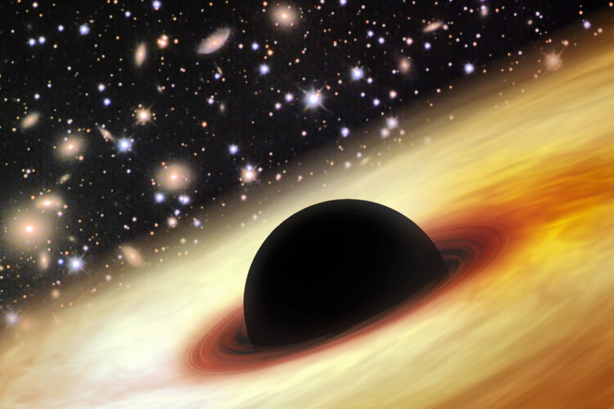 NASA's Telescope Spot Two Monstrous Black Holes Hidden in Blankets of Astral Gases And Dust