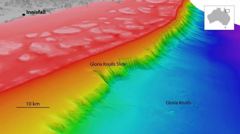 International Scientists Decipher a Massive 300,000-years-old Landslide Lying in Depths of Great Barrier Reef