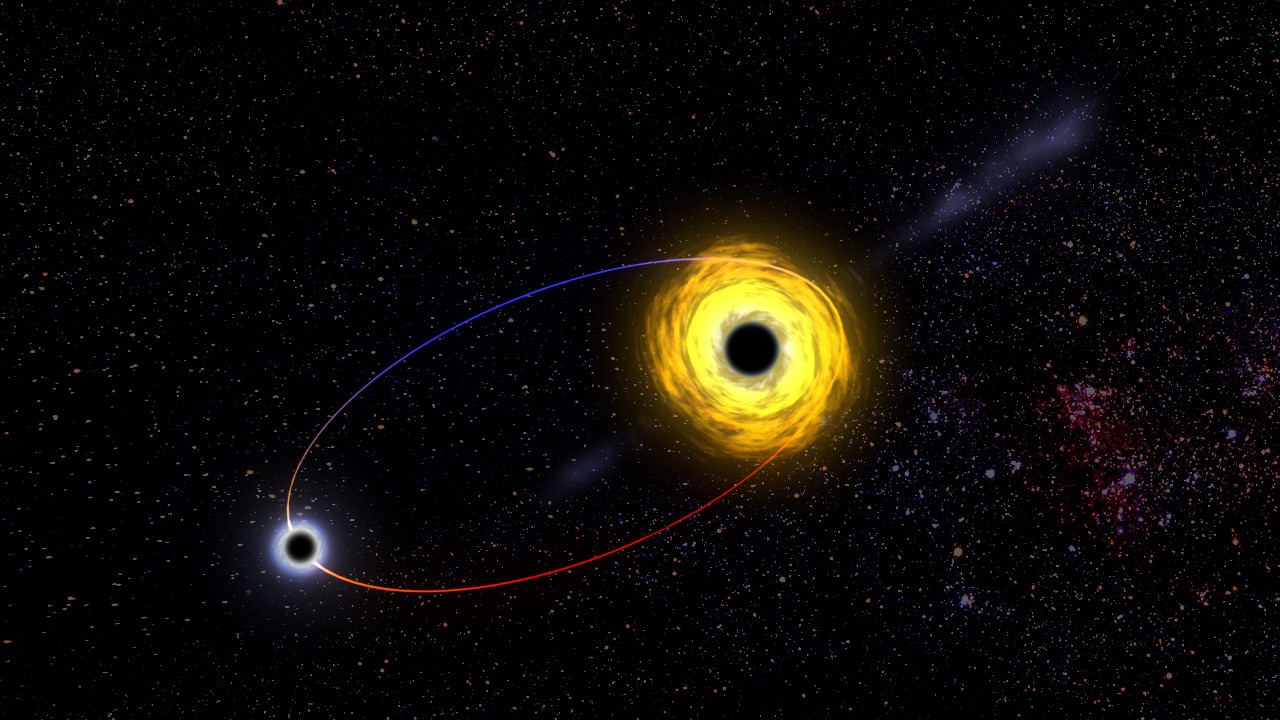 Black Hole with common orbits
