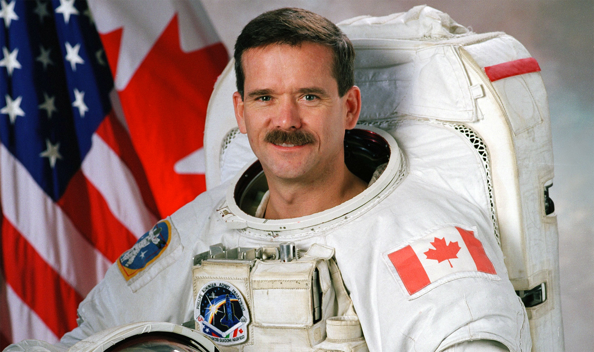 """It will not go according to the planning"" says Astronaut Chris Hadfield"