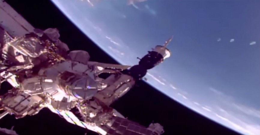 Three alien spaceship spotted near International Space Station, Watch video