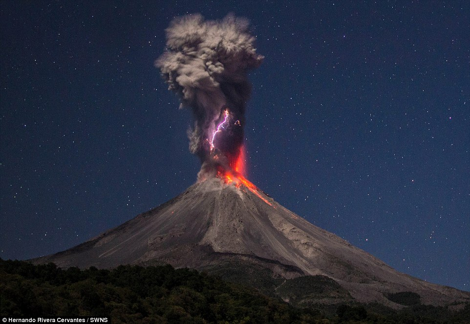 Mexico's Colima volcano erupts again with miles high ash and smoke