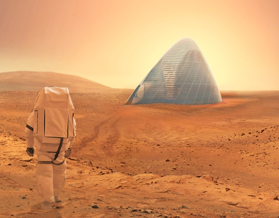 'Mars Ice Home': NASA Proposes Blueprint of Abode for Potential Mars Explorers