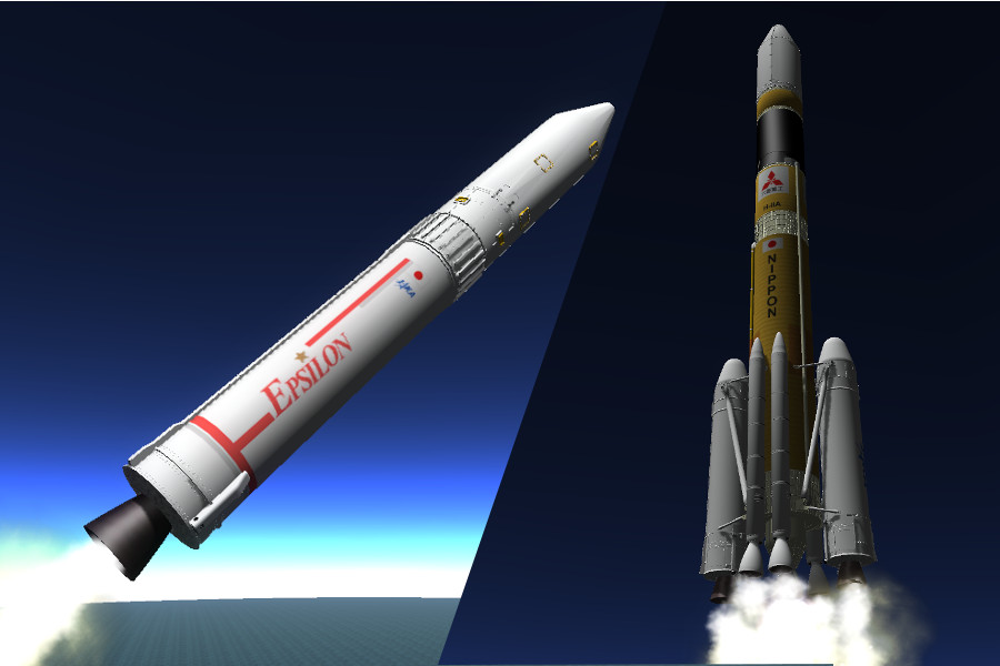 Japan's upgraded Epsilon booster that will study Genesis of Geomagnetic Storms to take-off Today