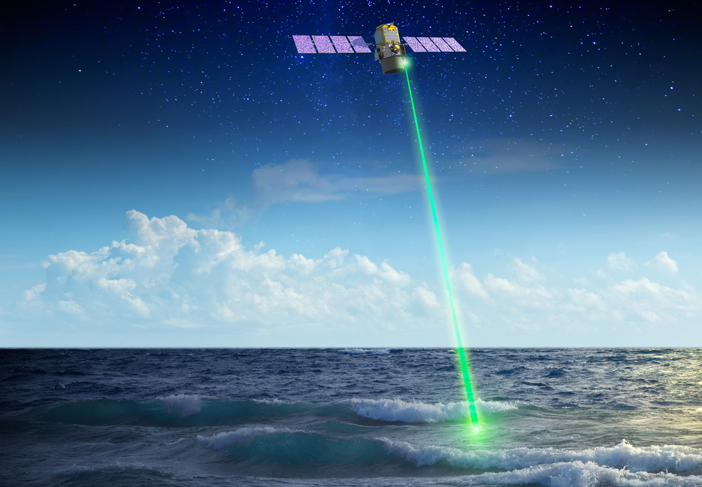 NASA's Space Laser Sensor CALIOP Beamed Back First Boom-And-Bust Cycles of Polar Phytoplankton