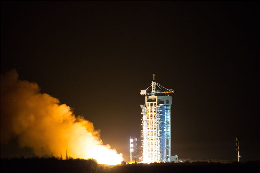 China kicks off its first carbon dioxide detection satellite 'TanSat' today