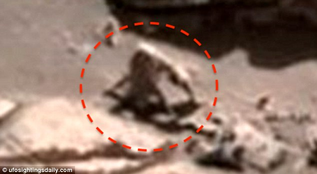 UFO Sightings Detect Extraterrestrial Species like Hairy Spider Monkey and Snail on Mars