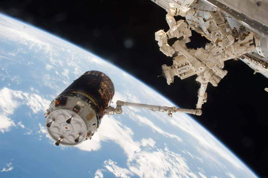Battery Replacement International Space Station