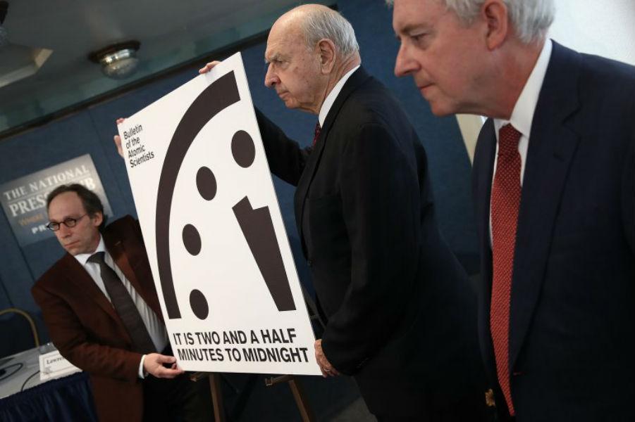 Emblematic Doomsday Clock