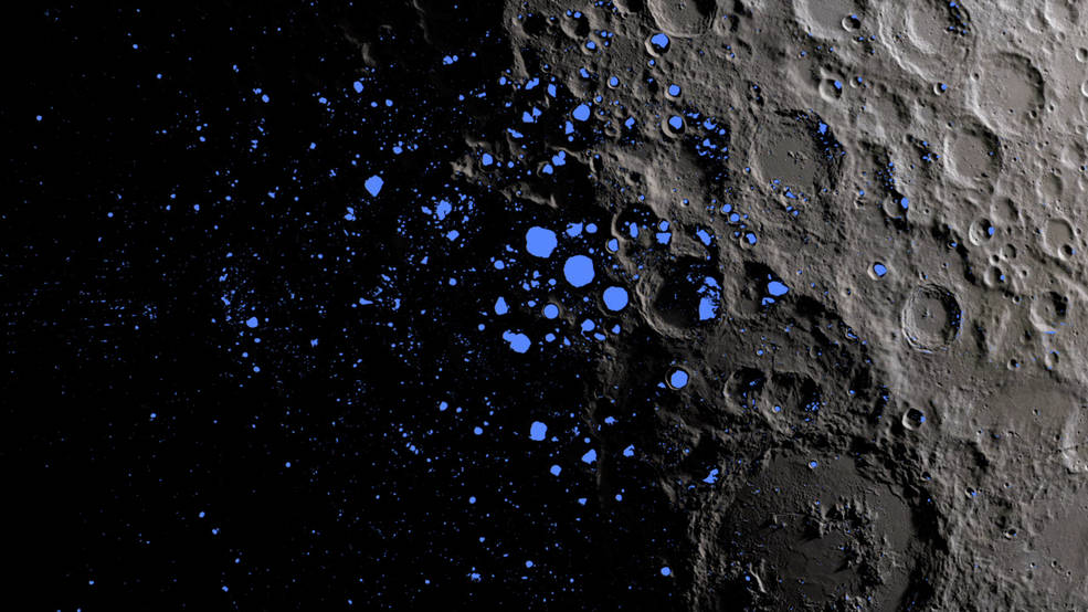 NASA Reports Solar Storms Can Dissolve and Vaporize Soil of Moon near Lunar Poles
