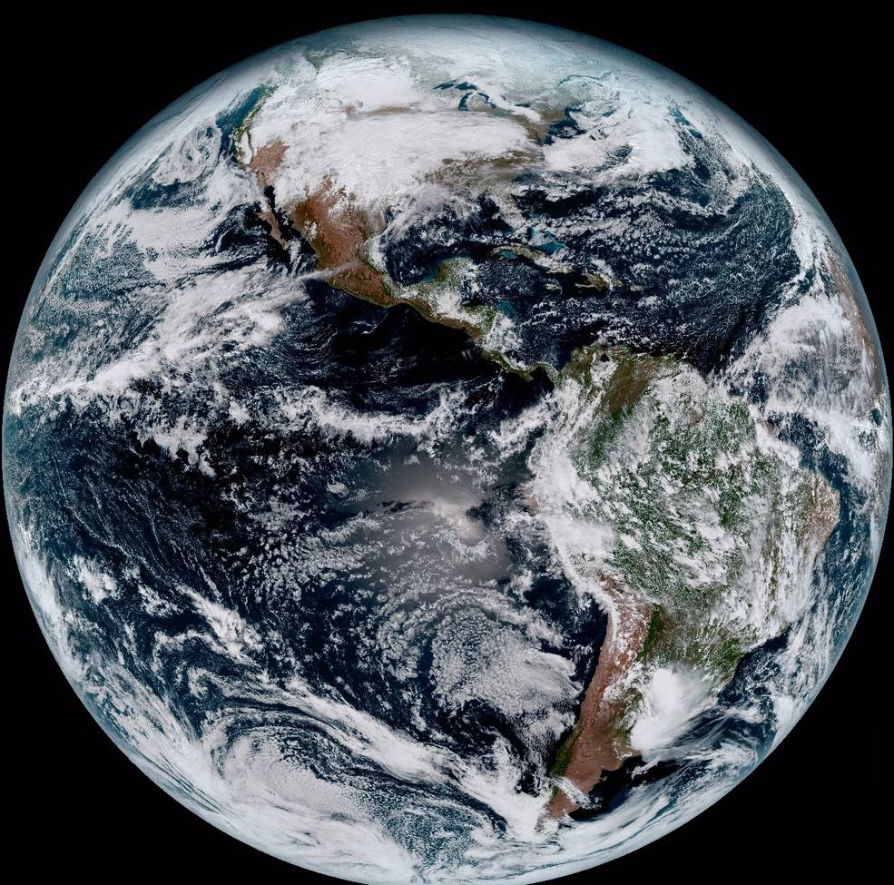 NOAA Shares First Jaw-Dropping Color Images Of Earth Shot By GOES-16 Satellite