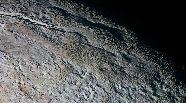 International scientists spot Earth-like snow and ice formations called 'Penitentes' on Pluto