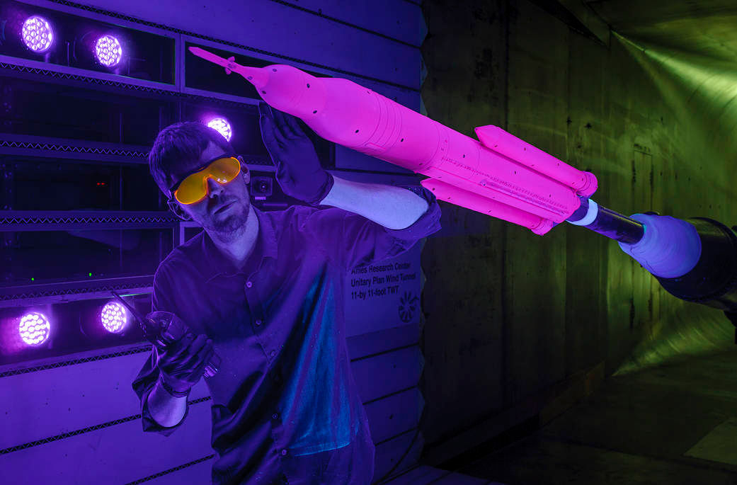 NASA to Use New 'Pressure-Sensitive' Pink Paints to Boost up Its Rocket Efficiency
