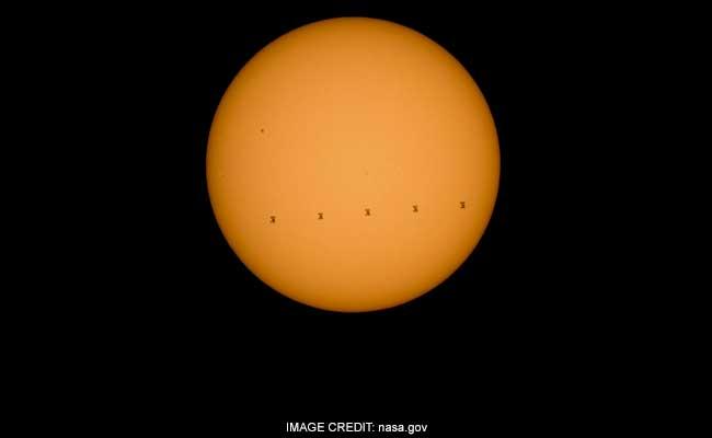 solar transit ISS