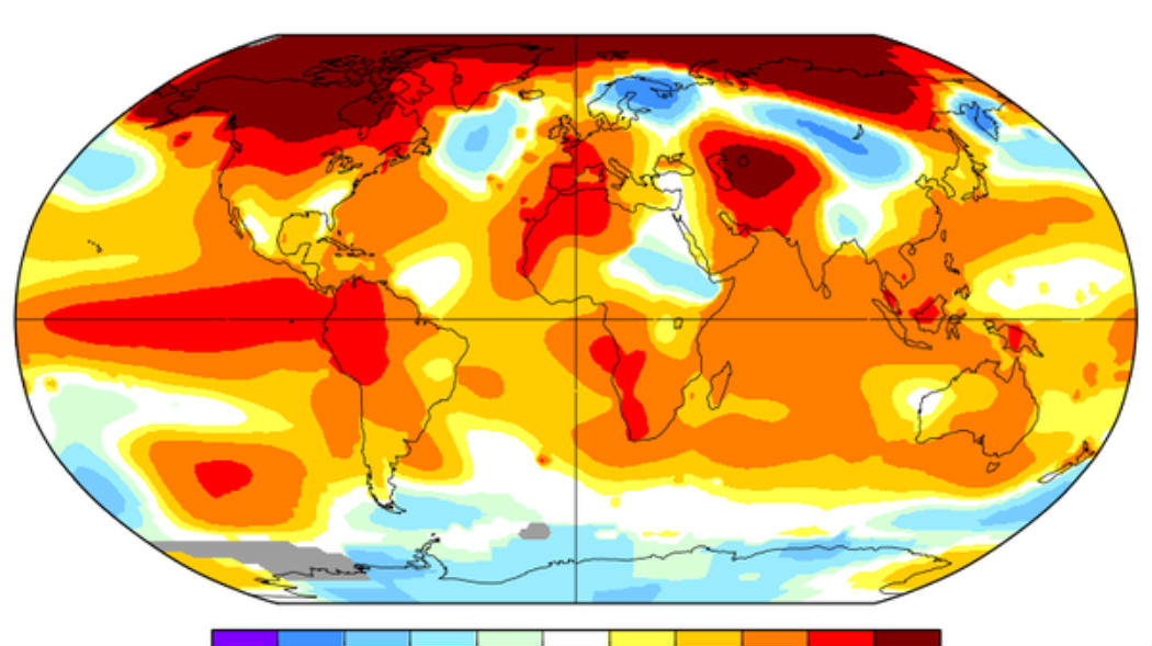 January 2017 Is the Third Hottest In 137 Years: NASA