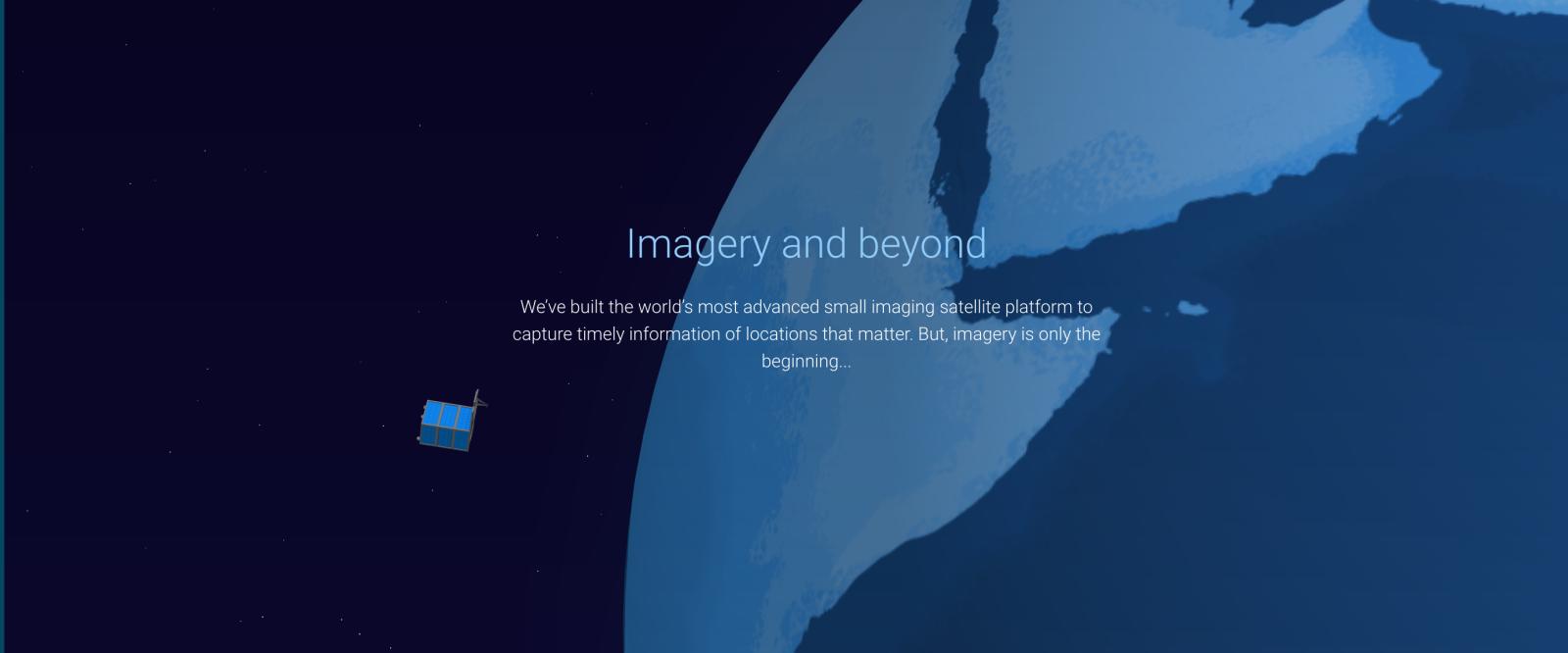 Alphabet's Satellite Imagery Terra Bella