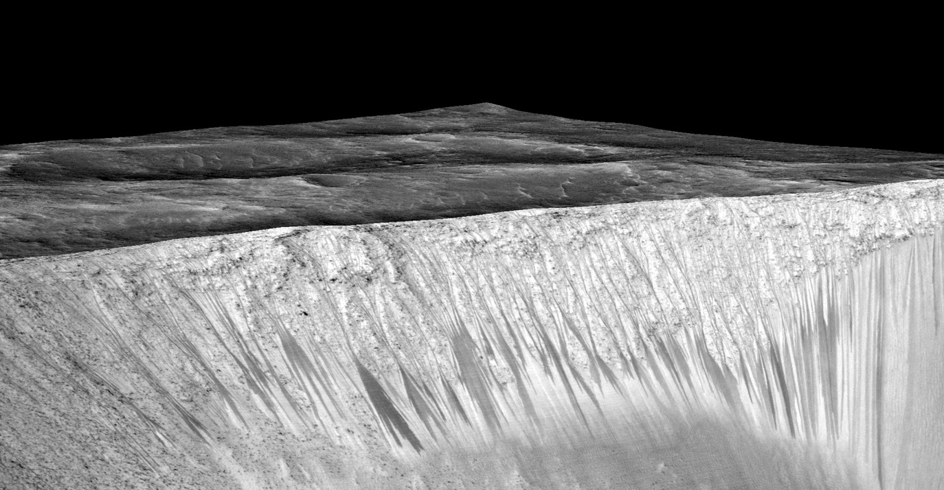 Trinity Scientists Track Down Evidence of Water on Mars