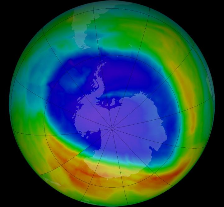 Ozone Concentration is decreasing