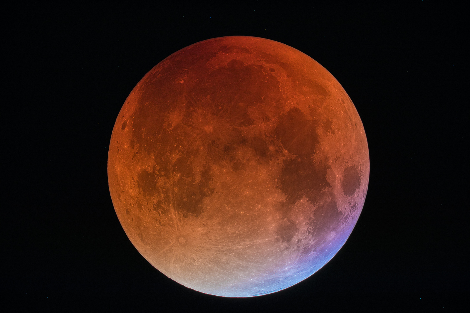 The Super Blue Blood Moon will rise on January 31