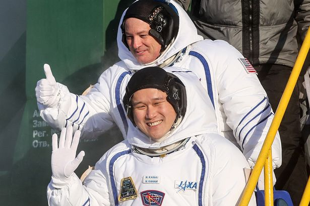 Japanese astronaut's 9cm growth spurt could mean he can't fly home