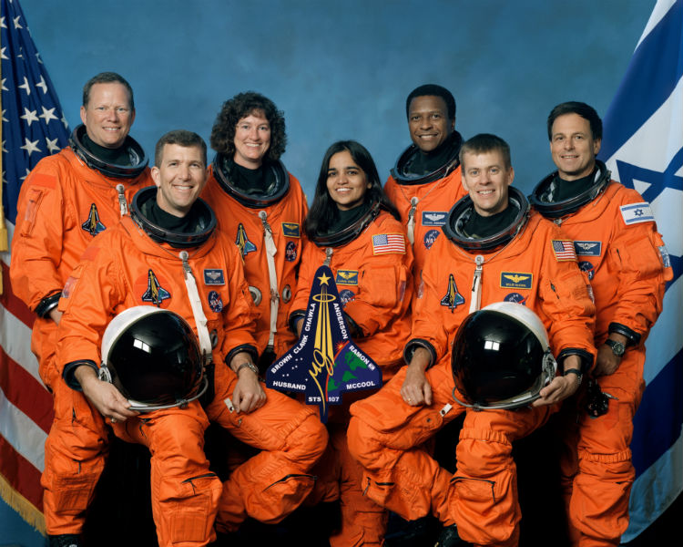 NASA honors Late Kalpana Chawla and 6 other Astronauts killed on Columbia Space Shuttle 15 Years Ago