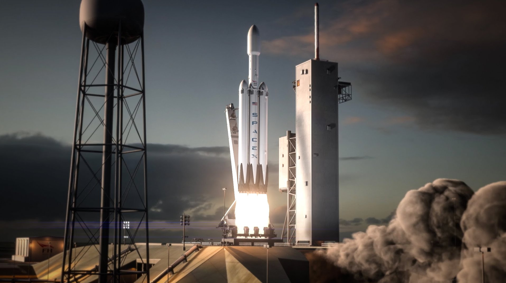 SpaceX unable to test fire Falcon Heavy rocket