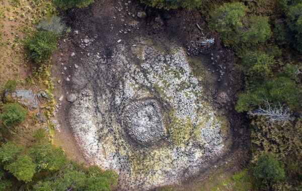 Stone shrine discovered inside Mexican volcano depicts mythical Aztec universe
