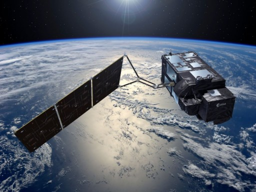 European Space Agency satellite rides to orbit from Russian Federation