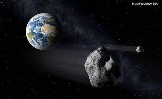 Astronomers detects asteroid 2018 GE3 that made a 'surprise' flyby close to the Earth