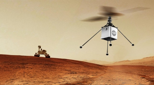 NASA is planning to launch a rover & a helicopter on the Mars in 2020