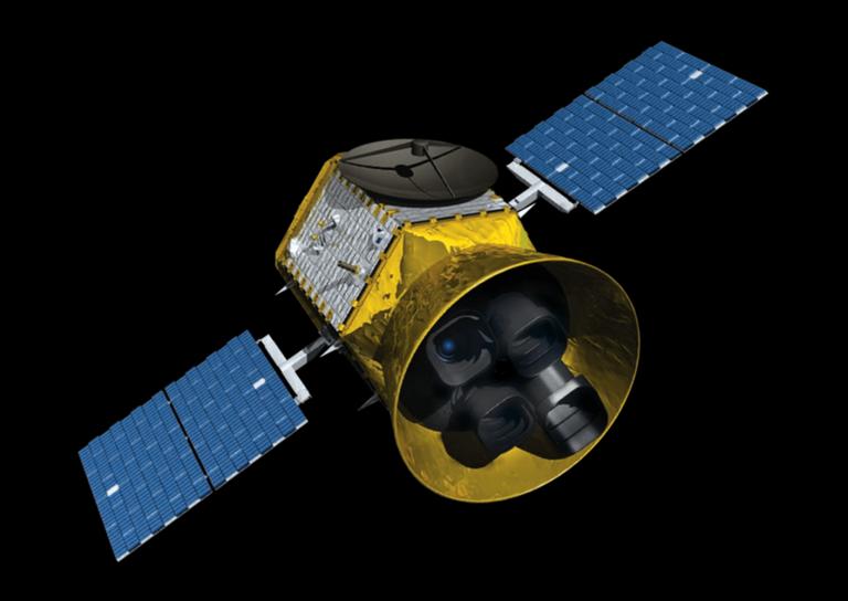 TESS satellites sends a stunning test image of more than 200,000 stars