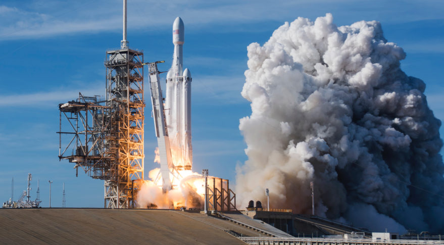 SpaceX' Falcon Heavy wins $130 million contract from U.S. Air Force to launch a classified satellite