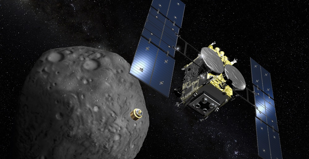 JAXA Hayabusa 2 missions is just 100 km away from the object Ryugu