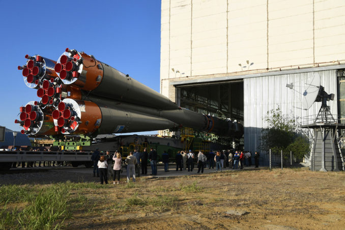 Soyuz rocket is set to launch today from Baikonur Cosmodrome at 07.12 a.m. EDT: Watch Live