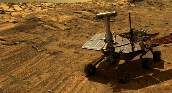 Giant Martian Dust Storm Threatens Opportunity Rover