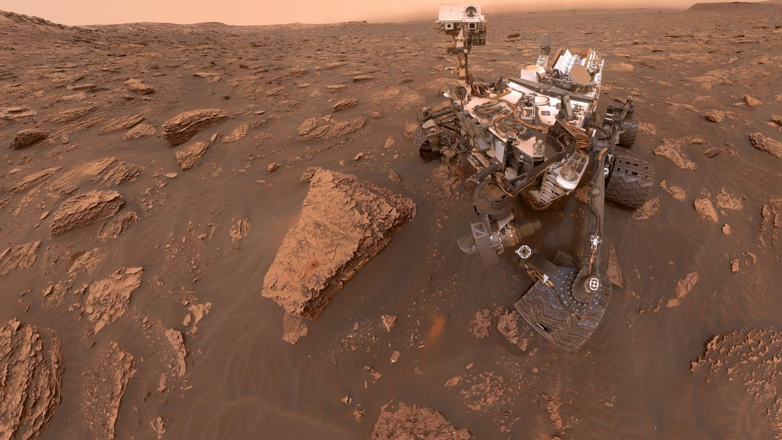 Dust storms encircles the whole planet; Curiosity is safe but Opportunity rover has been turned off