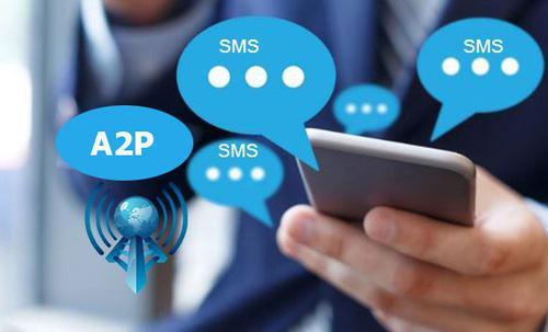 A2P (Application-to-Person) SMS 및 API